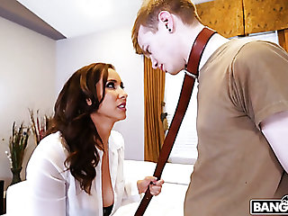 Bad buddy gets punished by fantastic curvy nympho Isis Love