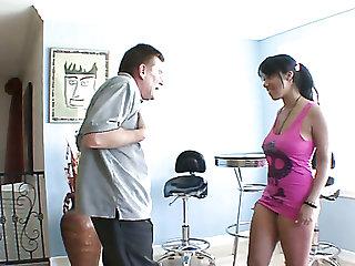 Smoking hot Momoko Mitchell hammered deep in her soaking vagina