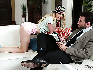 Emotional kinky Iris Rose is ready almost to faint while being analfucked